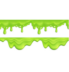 slime seamless pattern vector image