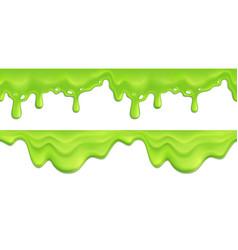 Slime seamless pattern vector