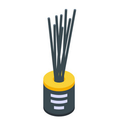 Sticks diffuser icon isometric style vector