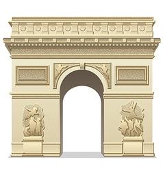 Triumphal arch vector
