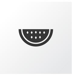 Watermelon icon symbol premium quality isolated vector