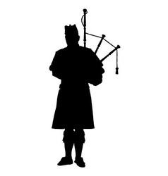 Scottish piper vector