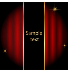 stage background with sparkles vector image vector image
