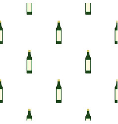 vinegar bottle pattern seamless vector image vector image
