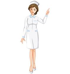 A nurse vector image