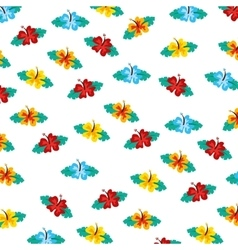 floral pattern decoration icon vector image