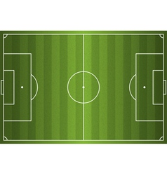 Grass Textured Soccer Field vector
