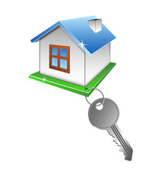 House and key vector