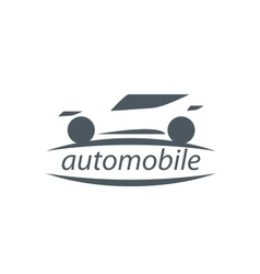 logo car vector image