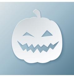 Paper Pumpkin vector image