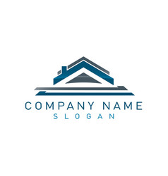 Real estate logo 8 vector