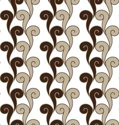 Seamless swirls pattern vector