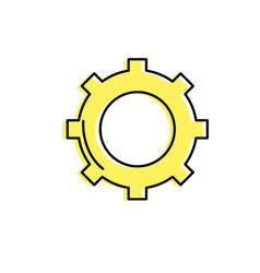 Technology web tools symbol icon vector
