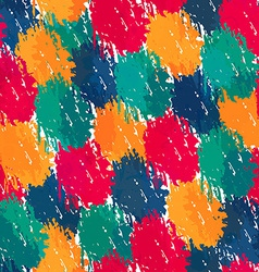 painting style seamless pattern vector image