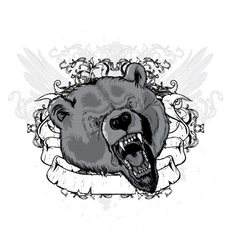 Vintage t-shirt design with animal vector