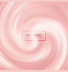 pink creamy swirling background vector image