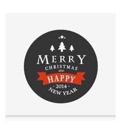 Christmas vintage for Christmas vector image vector image