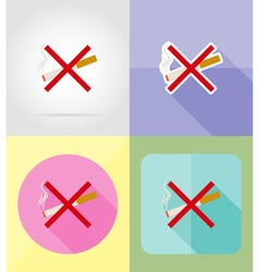 service flat icons 04 vector image