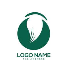 art and design logo template vector image
