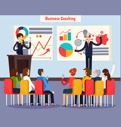 Business coaching orthogonal composition vector
