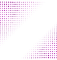 Dotted Pink Background Halftone Pattern vector