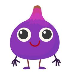 Figs icon cartoon style vector