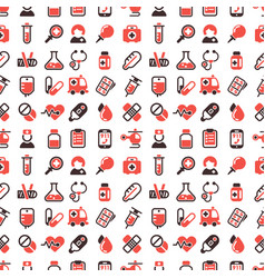 Health medical emergency seamless pattern vector