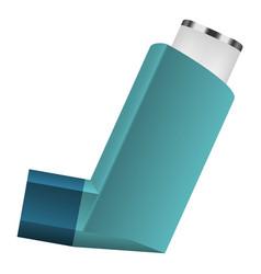 Inhalator icon realistic style vector