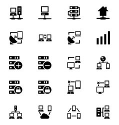 Networking Icons 3 vector