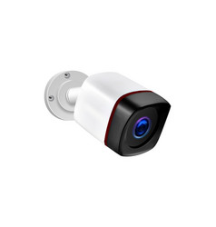 outdoor wireless surveillance video camera vector image