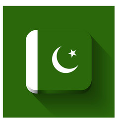 pakistan flags design vector image