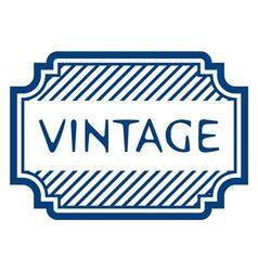 Vintage certificate rubber stamp vector