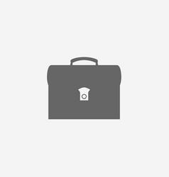 business symbol of briefcase web vector image vector image