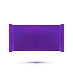 Plastic Pack Template vector image