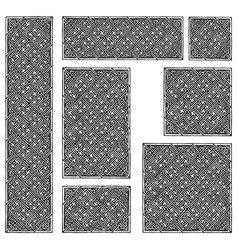 Celtic seamless pattern vector
