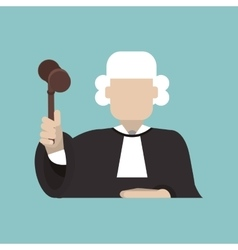 Judge icon design vector