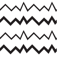 Seamless geometrical pattern zigzags vector
