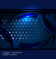 usa texture background vector image