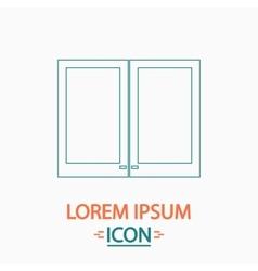 window computer symbol vector image