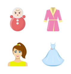 business trade atelier and other web icon in vector image vector image
