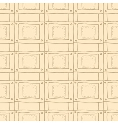 seamless pattern in the style of steam punk vector image