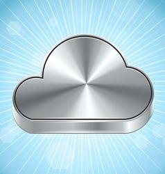 Cloud Computing Icon vector image