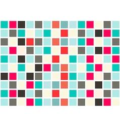 Retro Web Design Seamless Tiles - Mosaic Square vector image vector image