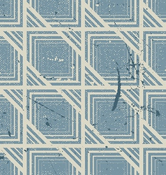 Retro style geometric seamless background vintage vector image vector image