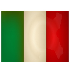 Vintage italy Flag vector image vector image