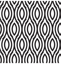 Abstract wavy seamless pattern vector