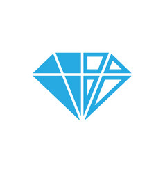 Diamond icon design template isolated vector