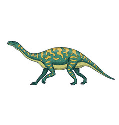 dinosaurs barosaurus apatosaurus tenontosaurus vector image