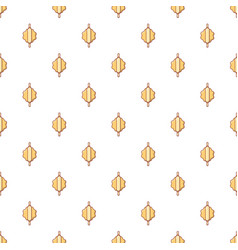 Dough with rolling pin pattern seamless vector