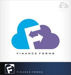 finance forms vector image
